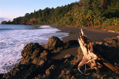 Costa-Rica-Holiday-Tours-Casa-Corcovado-Beach-Sunset