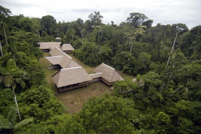 Peru-Wildlife-Tours_Accommodation_Tambopata-Research-Centre-aerial